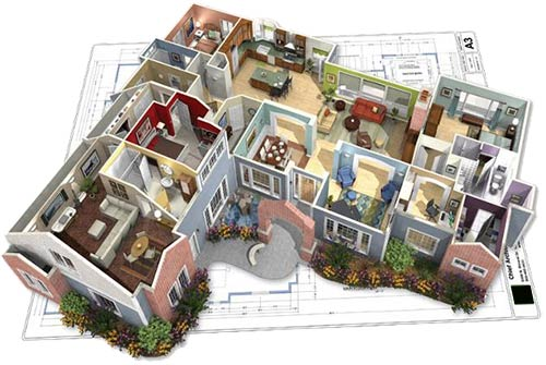 mcleod-home-designs- 3d doll house render 2