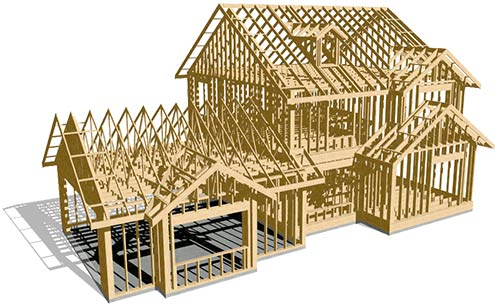 mcleod-home-designs- 3d framing house